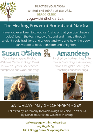 The Healing Power of Sound and Mantra